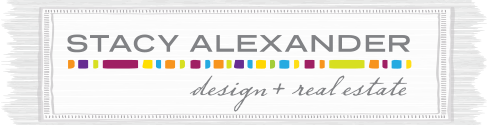 Stacy Alexander Design + Real Estate Logo